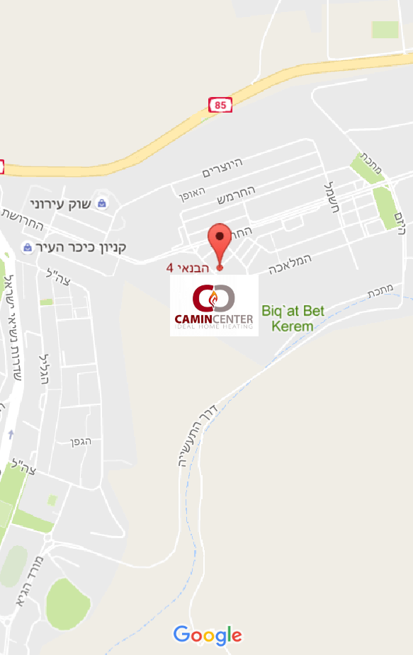 kamincenter-map3 צור קשר