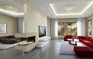 קמין גז מחמם ומקנה תחושת משפחתיות ויוקרה בכל דירה
